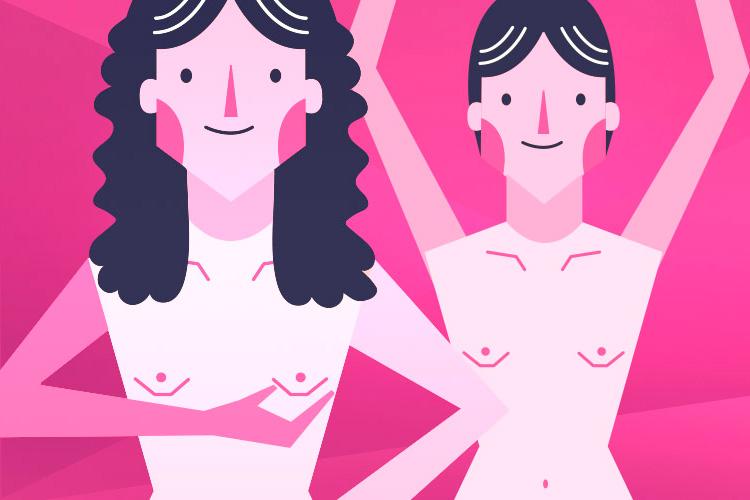 La autoexploración de los senos paso a paso