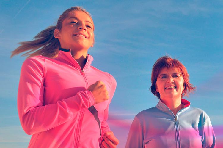 El ejercicio y el cáncer de seno