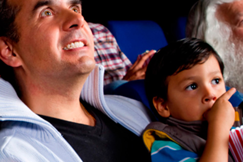 Botana saludable para ir al cine