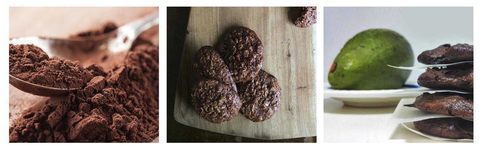 Galletas de cacao 100% saludables