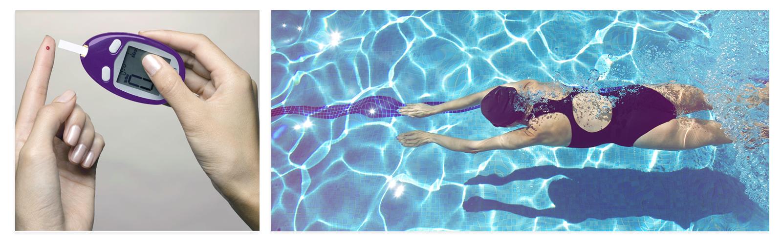 La natación: el ejercicio perfecto contra la diabetes tipo 2