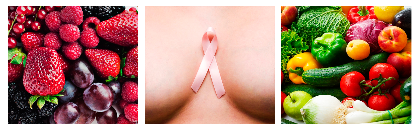 Cuida la salud de tus senos con alimentación limitada y ejercicio.
