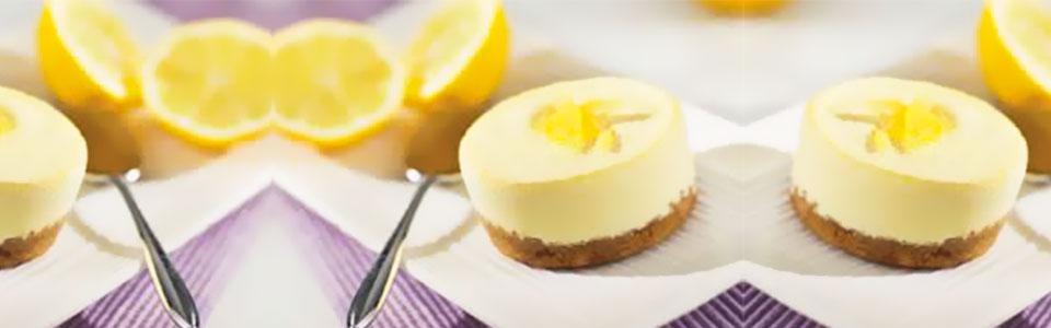 Tarta de queso con limón