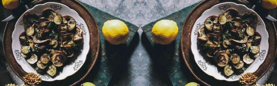 Berenjenas al limón