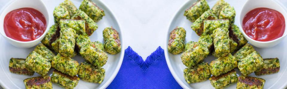 Bocadillos de brócoli
