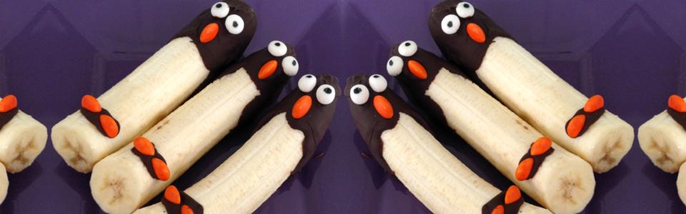 Pingüinos de plátano