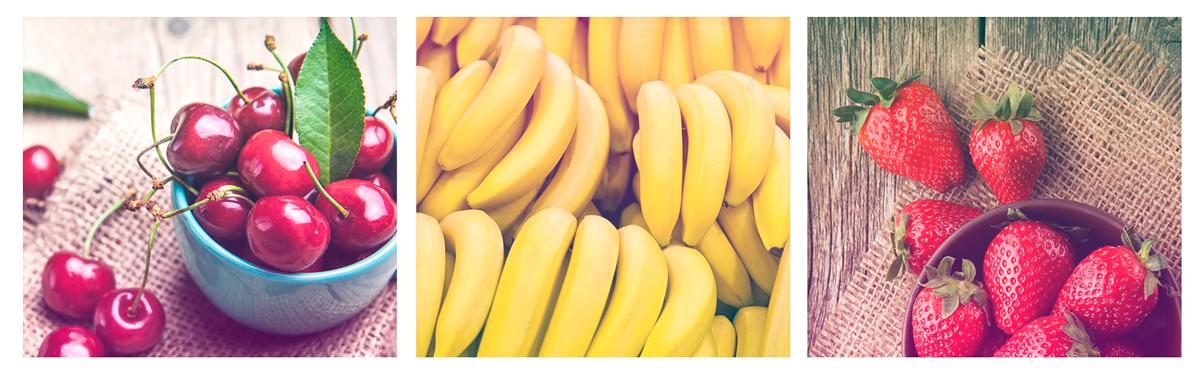 Los nutrientes en las frutas