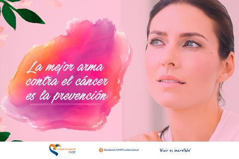 La mejor arma contra el cáncer es la prevención