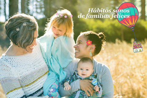 habitos sanos de familias felices