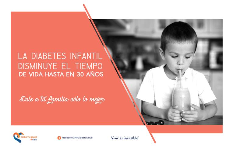 cartel diabetes infantil