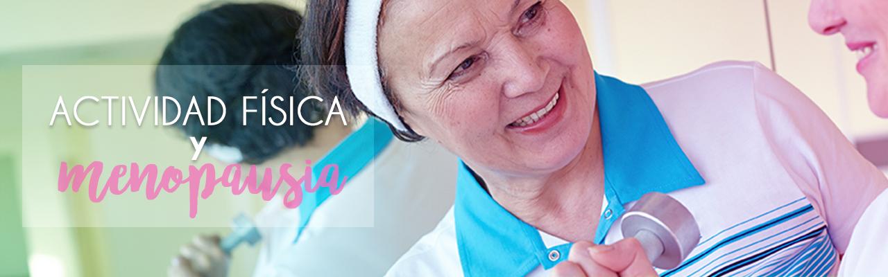 La actividad física y la menopausia