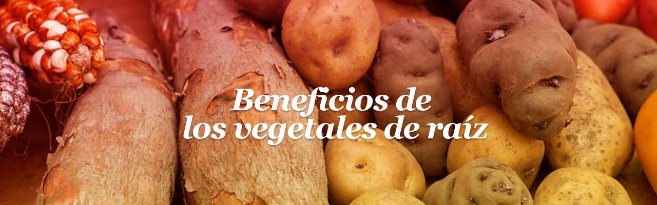 Beneficios de los vegetales de raíz
