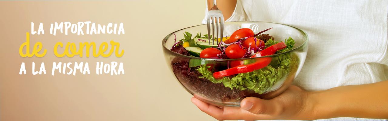 La importancia de comer a la misma hora