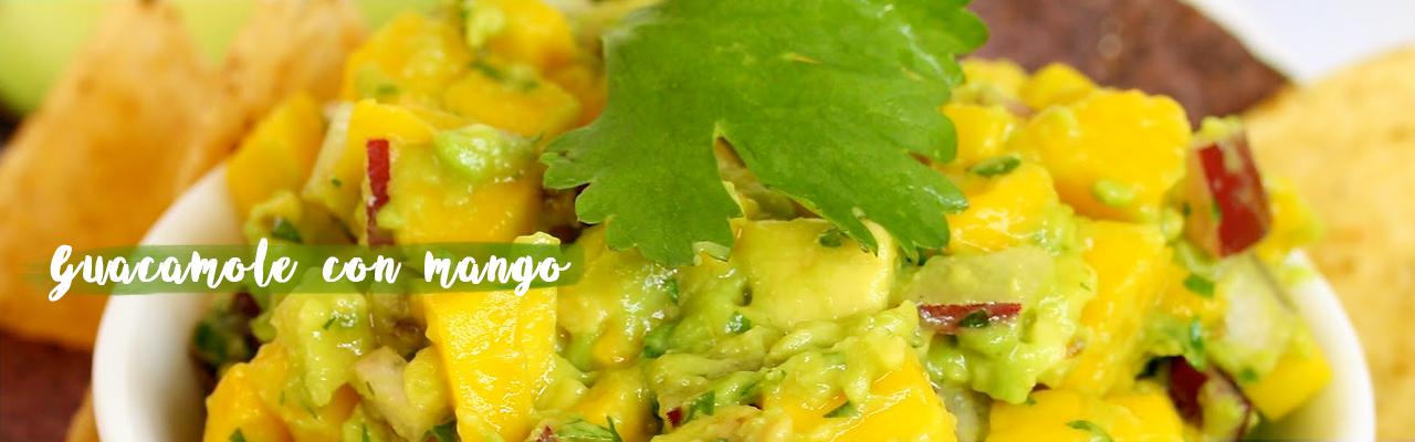 Guacamole con mango