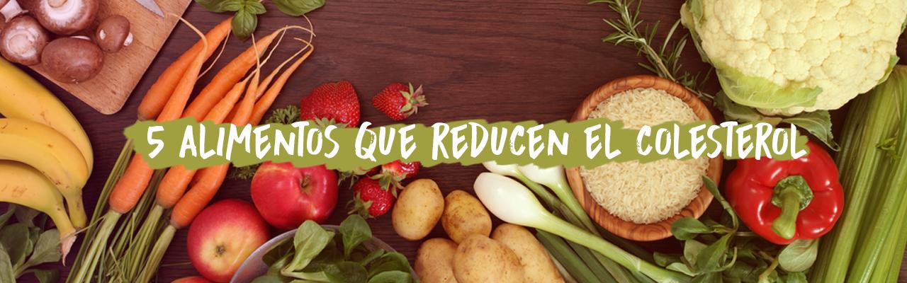 5 alimentos que reducen el colesterol
