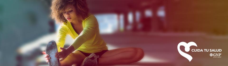 Estira tus músculos después de entrenar