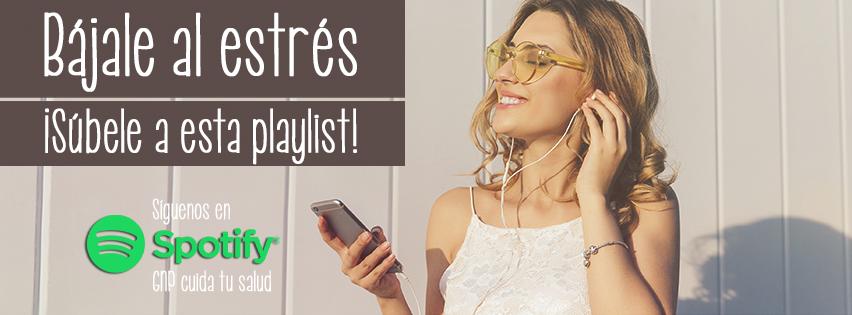 ¡Bájale al estrés, súbele a esta playlist!
