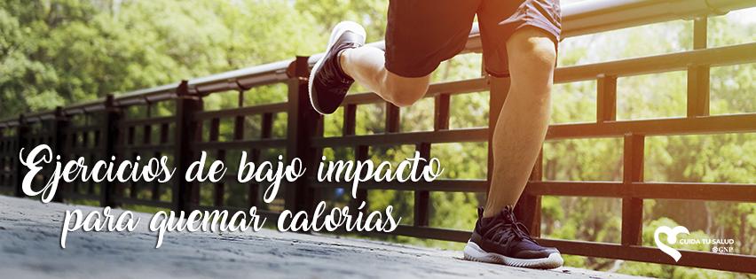 Ejercicios de bajo impacto para quemar calorías