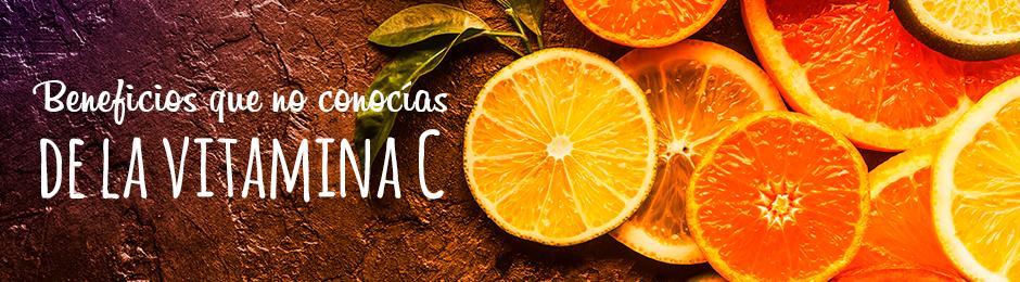 Beneficios que no conocías de la vitamina C
