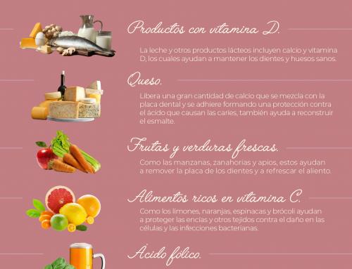 5 Alimentos que cuidan tus dientes