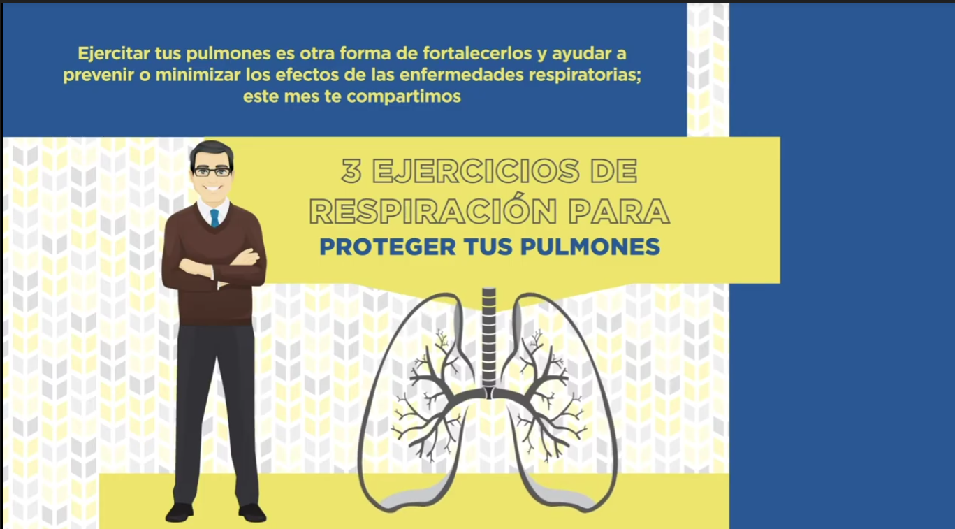 3 ejercicios para fortalecer los pulmones