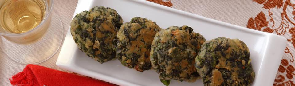Croquetas de quinoa y espinaca