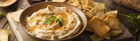 Hummus: una botana saludable